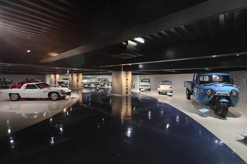 一如小而美的堅持,Mazda博物館雖不大,但絕對夠你看得是興高采烈。