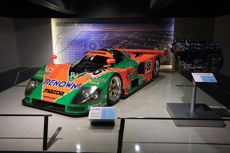 1991年叱吒Le Mans耐久賽場的787B,也象徵著90年代泡沫經濟頂峰的日本驕傲。