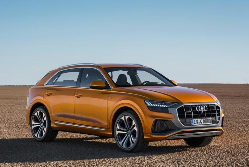 王者降臨 The new Audi Q8 旗艦休旅全球正式亮相,四環SUV家族最強成員展現全方位產品實力。