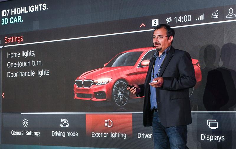 BMW集團首席UI/UX設計師Dr. Mario Urbina Cazenave。