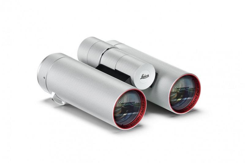 M10 Edition Zagato的方型背帶環設計源自Leica Ultravid 8x32 Edition Zagato雙筒望遠鏡,這麼美的望遠鏡誰捨得拿出門用?