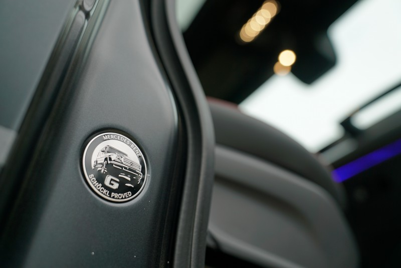 G-Class以通過Schöckl山脈的優異表現,在車門處以Schöckl proved徽章象徵其優越的越野性能