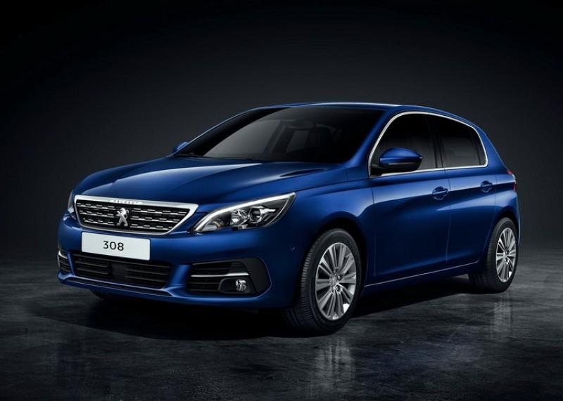 圖為現行販售之Peugeot 308