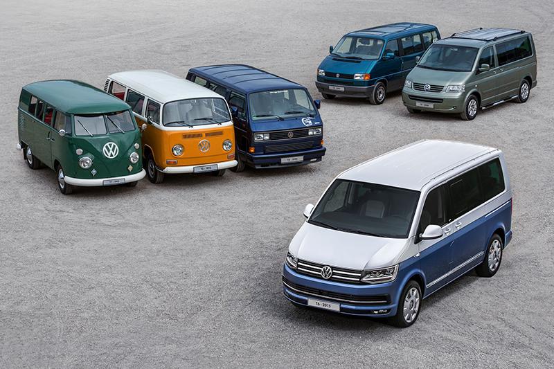 打1950年起,Volkswagen Transporter就成為全球商旅車的代名詞,其中Multivan更是標竿級旗艦車款。