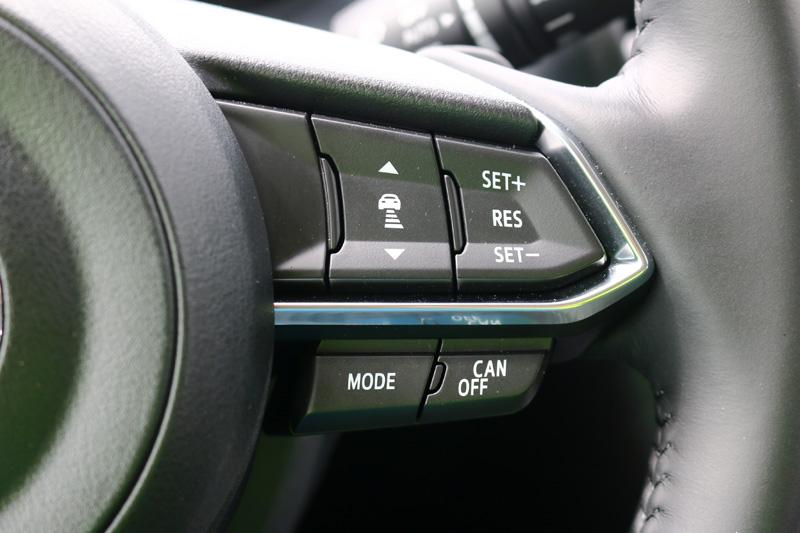 新年式Mazda3在旗艦型上增配MRCC主動車距控制巡航系統。
