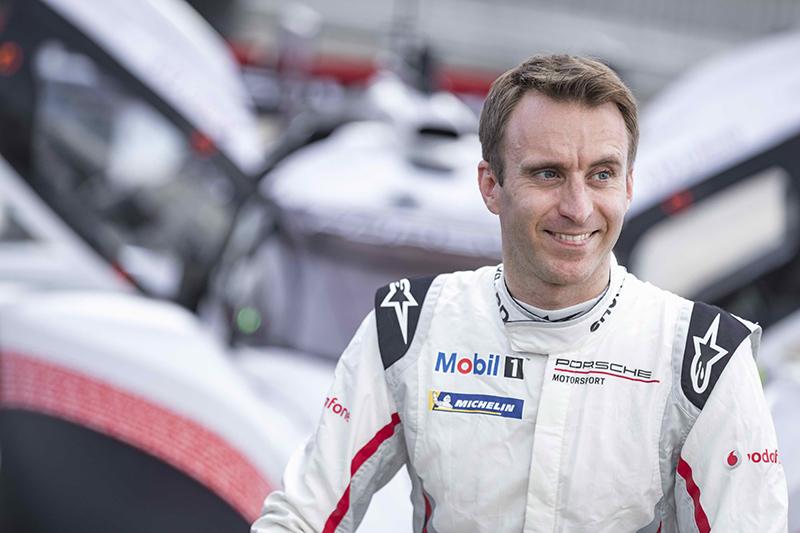 現年37歲的德國車手Timo Bernhard。