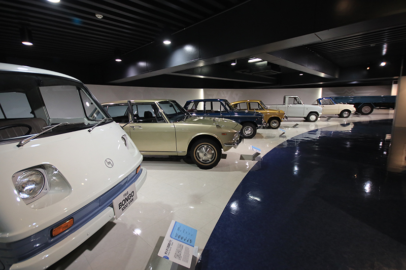 雖然藏車不算多,Mazda博物館卻依舊大有可看之處。