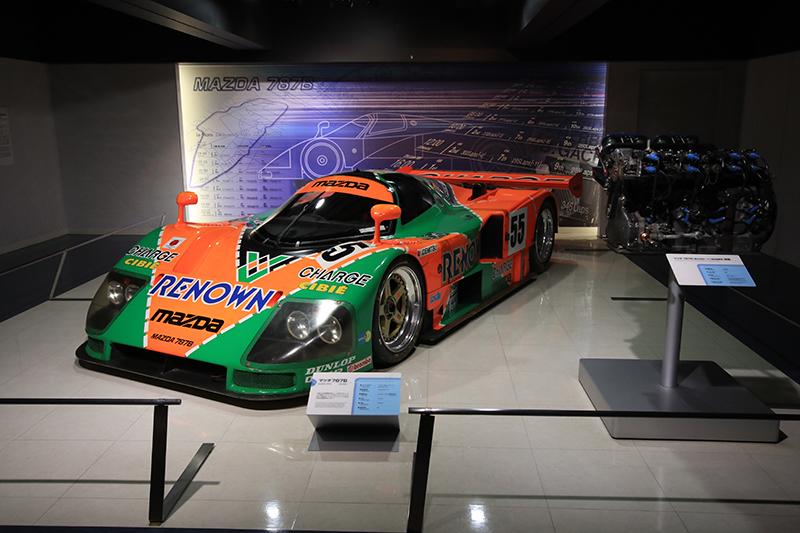 1991年的787B,這也是首輛拿下LaMans利曼24小時耐力賽的日本賽車。