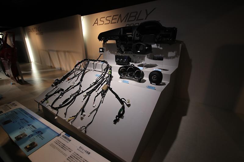 就算博物館內也不忘強調當代各面向的Skyactiv科技。