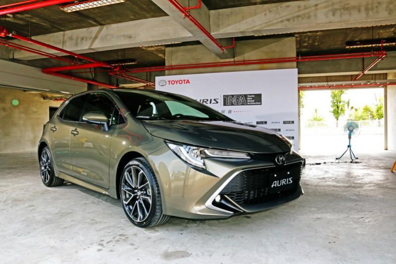 Toyota竟會選在大鵬灣舉辦試駕活動,可見Auris對品牌來說必定有其過人之處