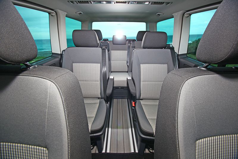 Volkswagen Multivan所擁有的完整七人座大空間,無論載人或置物都是一時之選。