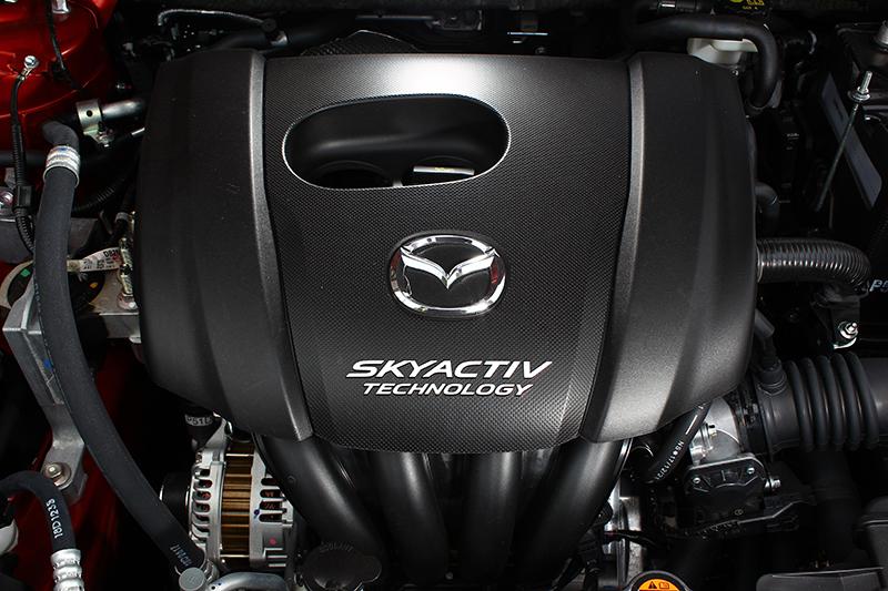 Mazda2可發揮107匹最大馬力與14.2公斤米最大扭力,對應一般需求相當實用。