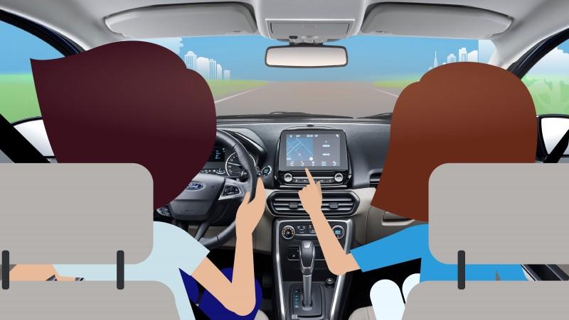 根據美國國家公路交通安全管理局(NHTSA)研究報告指出,副駕駛與乘客的行為和駕駛者同等重要。