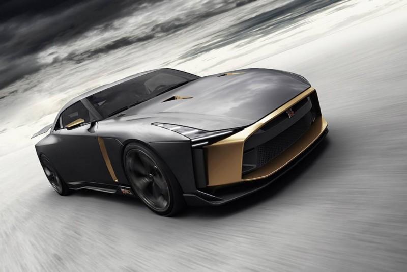 這是Nissan GT-R 50 by Italdesign