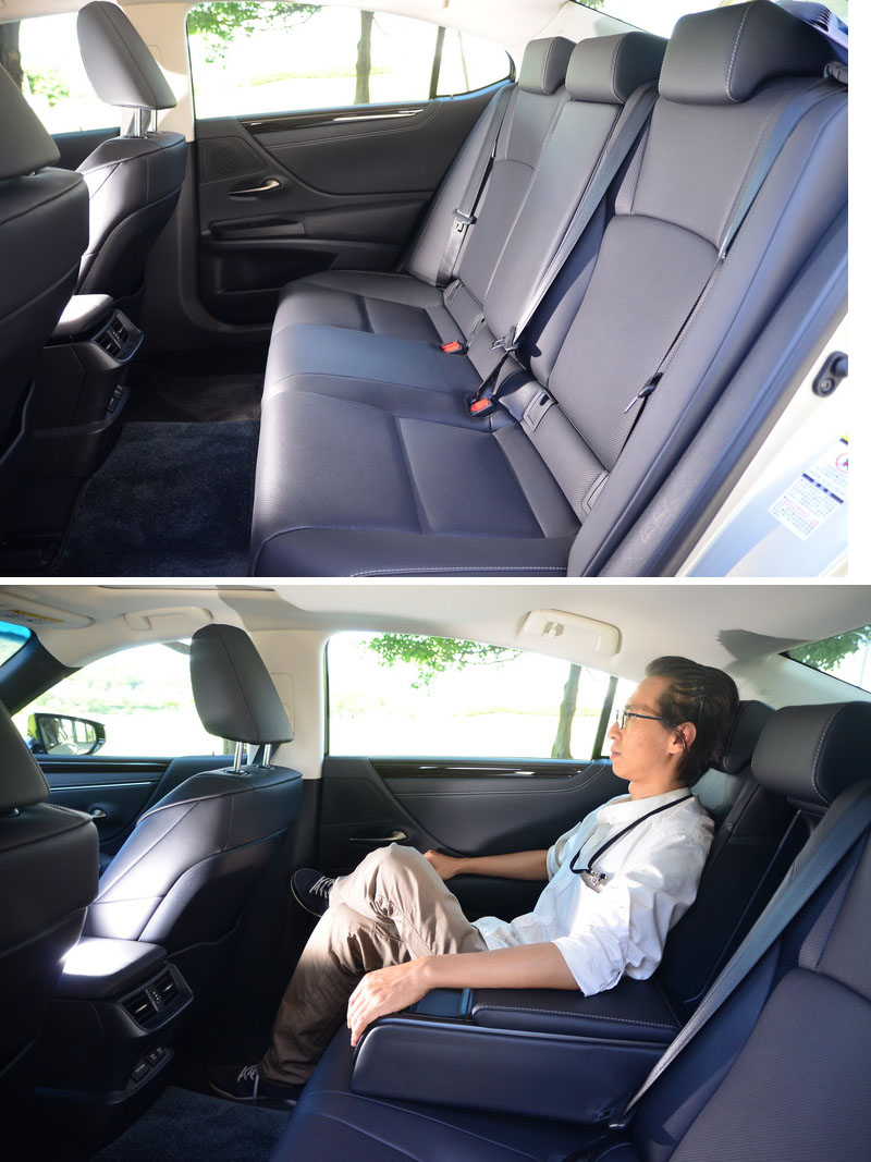 新的GA-K底盤讓車長、車寬、軸距皆比前代放大不少,多出來的空間完全展露在後座的車艙表現