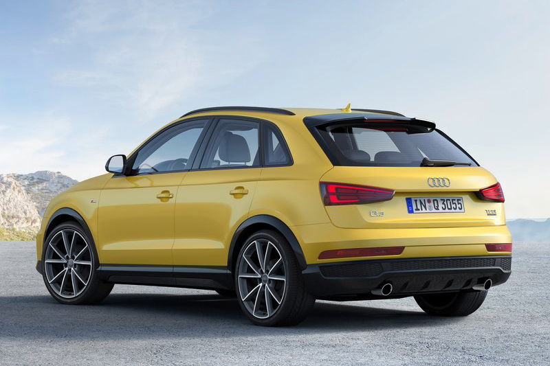 現行款Audi Q3圓圓的相當可愛,對比新款Q3照片雖不顯老態但卻相對和藹。