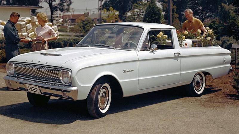 1957年在美國市場推出的Ranchero轎式貨卡
