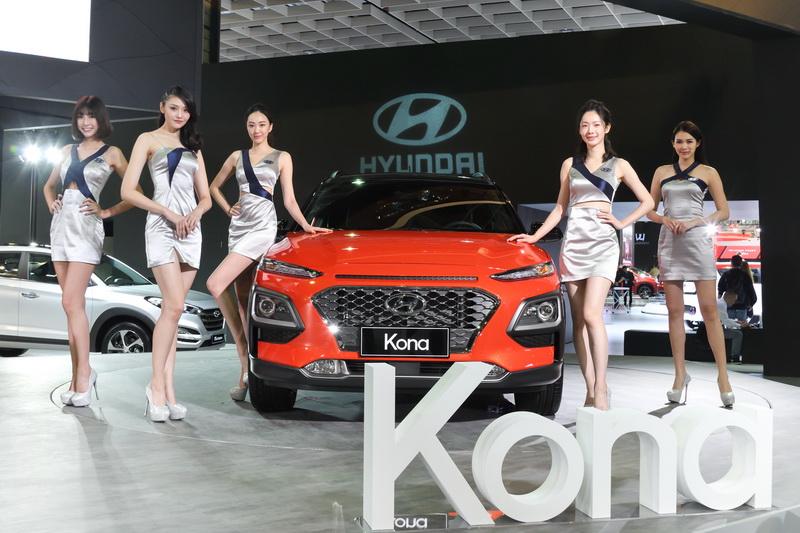 去年底今年初舉辦的台北車展中,Hyundai Kona便是舞台上的亮點。