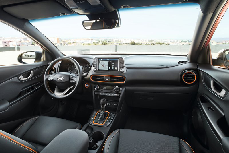 座艙保有Hyundai車系一貫的簡潔俐落感,質感表現相信也會是強項所在。