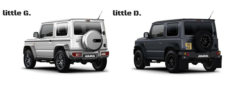 好期待能在台灣街頭看到這兩款DAMD改裝廠巧手打造的實車啊!