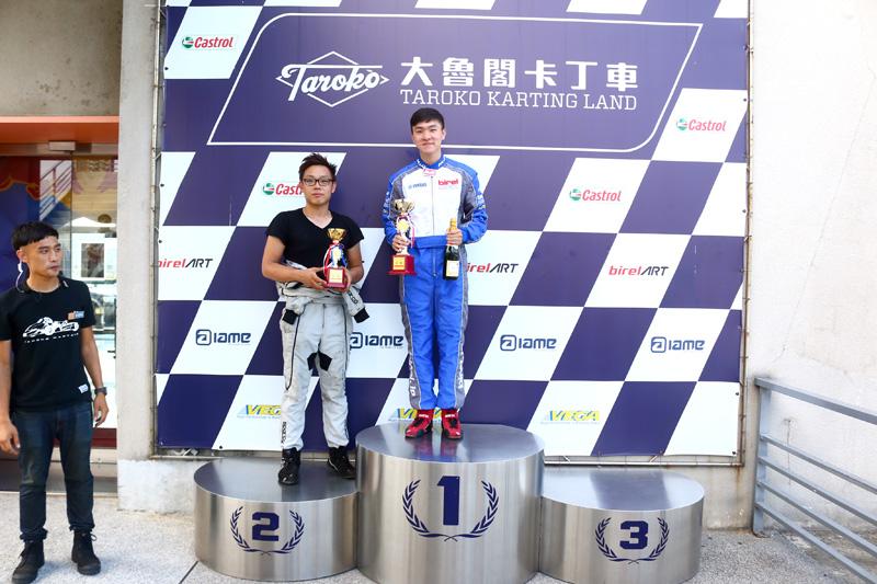 首度參賽的余宬羲拿到新手組第一,同為第一年參賽的偉恩為第二。