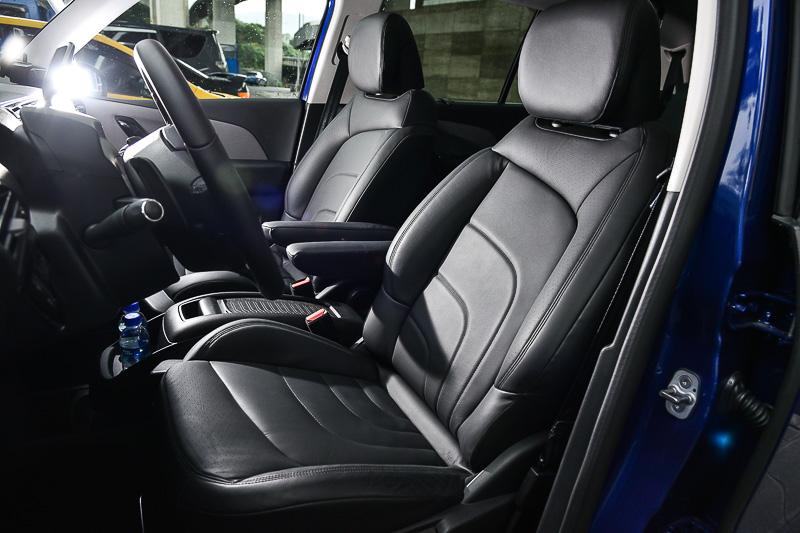 Citroen Advanced Comfort座椅兼具舒適性與包覆支撐能力
