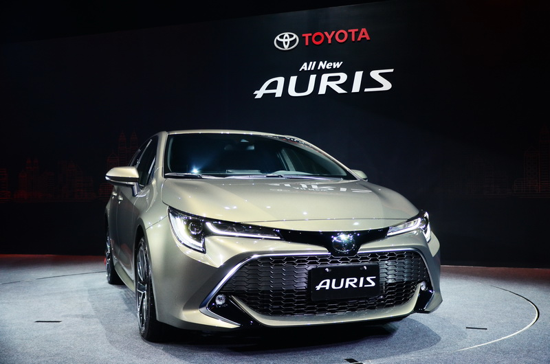 Auris擁有極具個人風格的流線運動外觀,是品牌少見的五門掀背設定