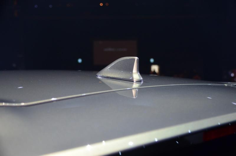 鯊魚鰭天線亦是強化運動感的重點項目