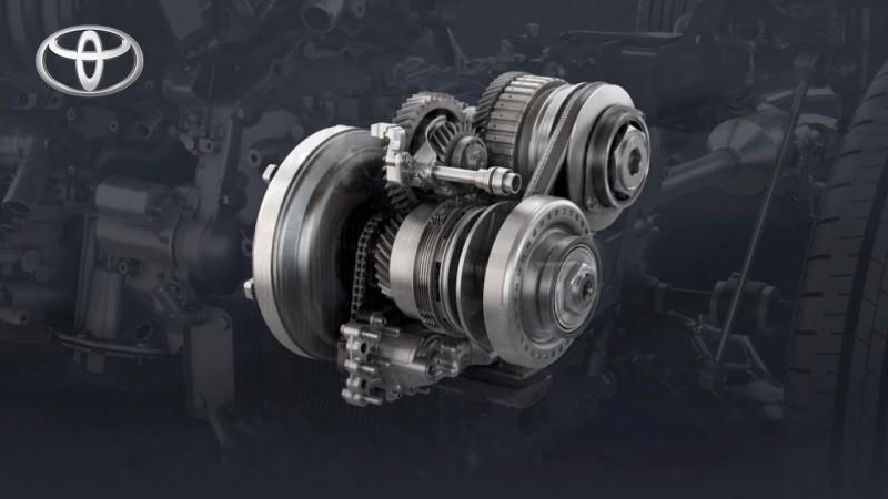搭配夾角更小的鋼帶盤設計,變速反應增加20%,油耗表現提升6%