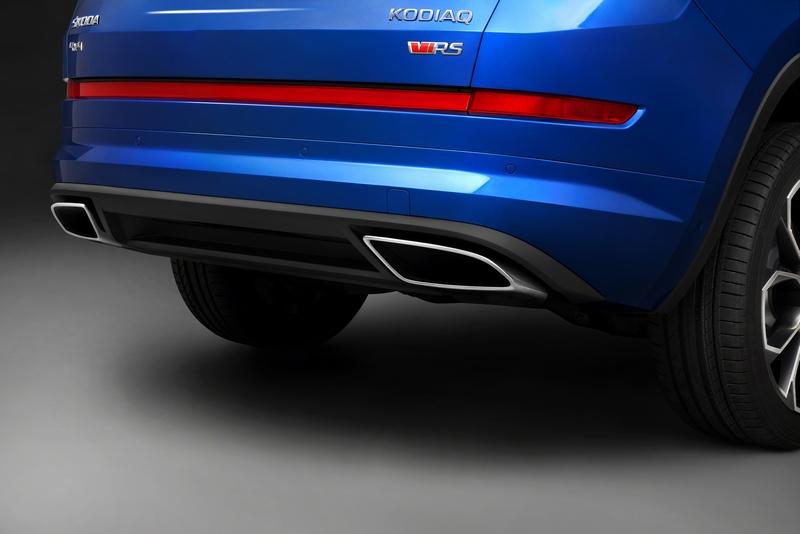 車頂架、窗框與後視鏡等處皆採用高光澤黑色配置,車尾雙出尾飾管也營造出性能氛圍。