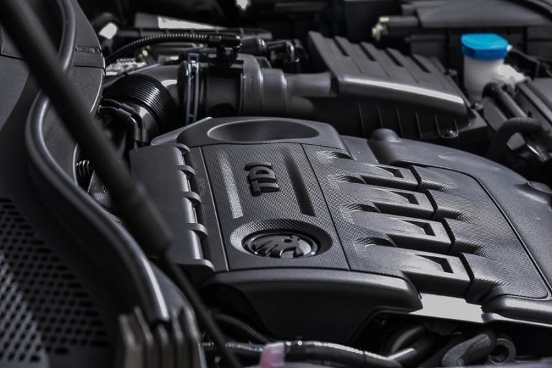 Kodiaq尊榮版TDI搭載2.0升直四渦輪增壓柴油引擎,具備190hp/40.8kgm渾厚動力