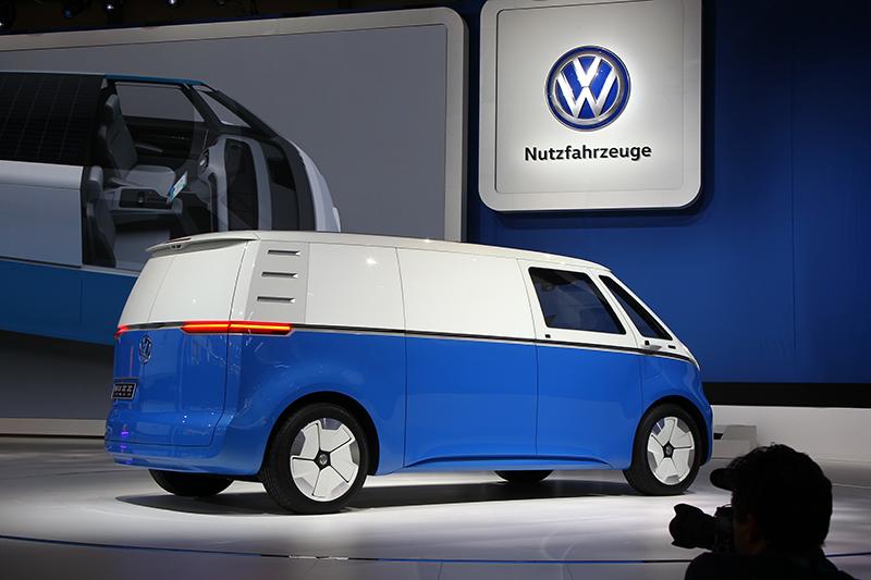 意猶未盡,要看其他五花八門的商用車,還是得先將目光從超討喜的Volkswagen I.D. Buzz身上給移開。