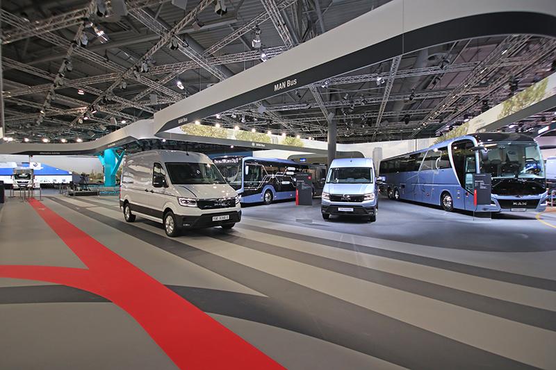 同樣隸屬VAG旗下的Man,也包含借調自VWCV的多款商旅產品。
