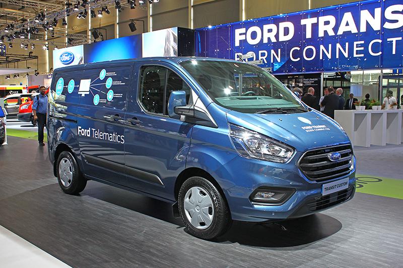 Transit Custom基本上就是旅行家的貨車版本。