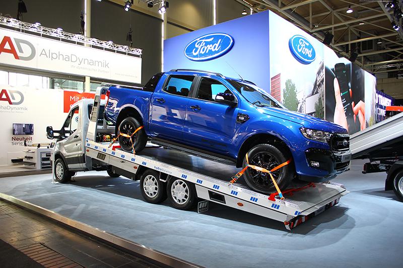這也是Ranger,不過其實它並不在Ford攤位上,而屬於一間拖吊車改裝品牌。