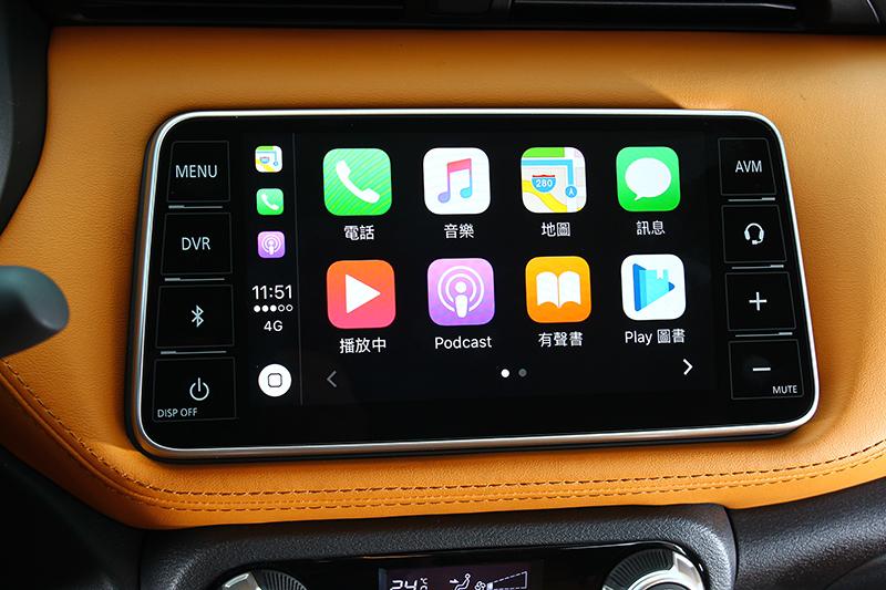 與Panasonic共同開發的X-Media III全平面觸控螢幕,能夠直接與iPhone或Android手機相連結。