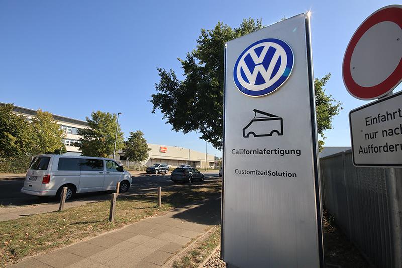 如果你買的是California,則會將適才Hannover-Stöcken工廠的T6半成品送至這個地方,也就是Californiafertigung。