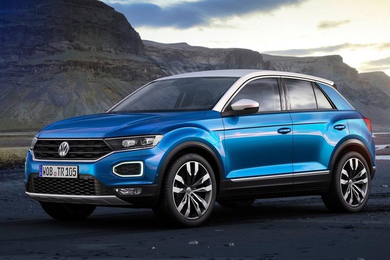 Volkswagen T-Roc。