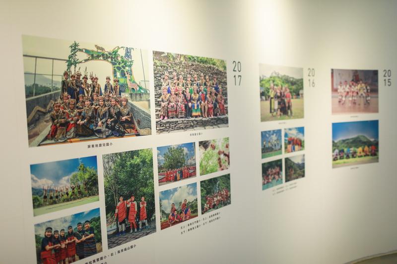 會展中集結過去幾年至偏鄉小學的拍攝作品