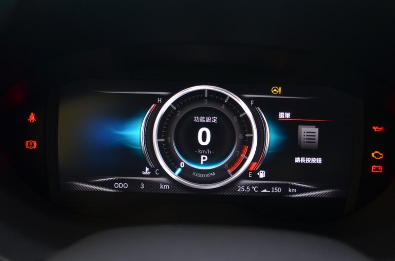 科技感十足的數位儀表現在直接變標準配備
