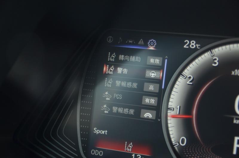 即便是入門的菁英版仍標配Lexus Safety System+主動安全防護系統