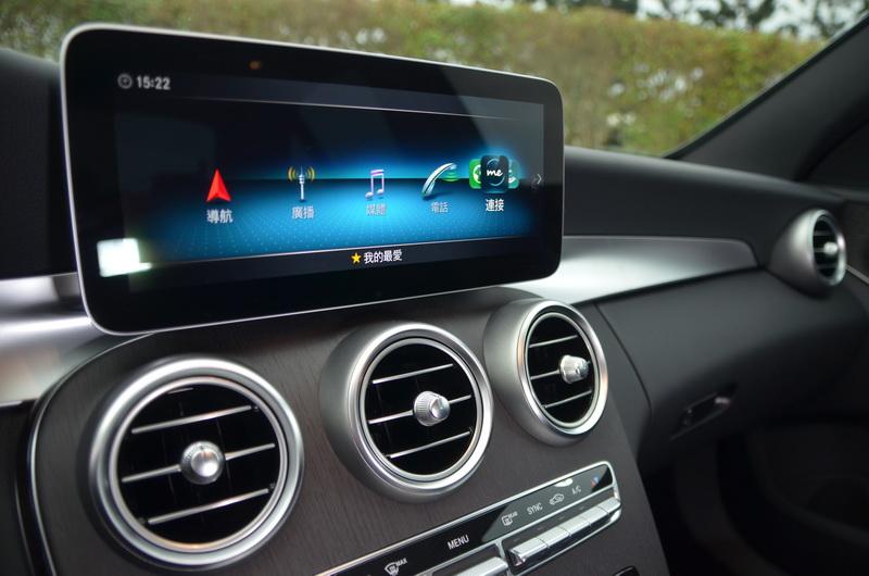 中控台換上10.25吋的多媒體螢幕,細緻度與辨識度上皆提升不少