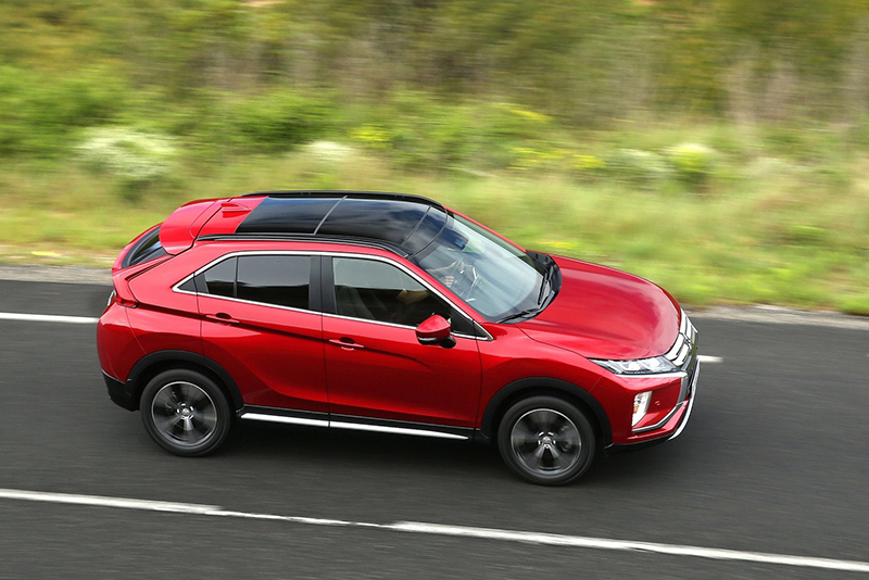 ECLIPSE CROSS菁英型擁有百萬元以下進口SUV級距最齊備的安全配置,甚至連ACC與FCM也列為標準配備。