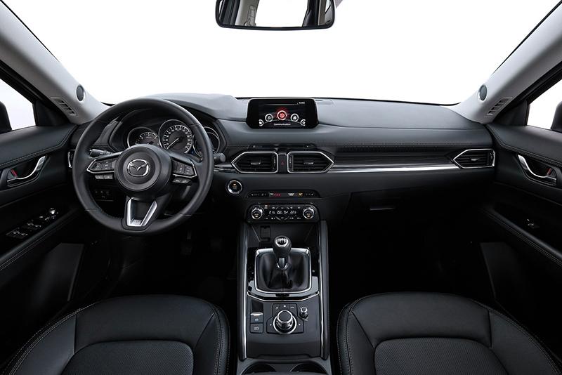 CX-5擁有相當富質感的座艙設計。
