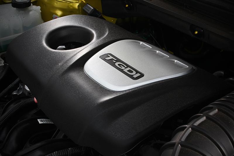1.6L GDi缸內直噴渦輪增壓引擎,可輕易輸出204hp以及27kg-m峰值動力。