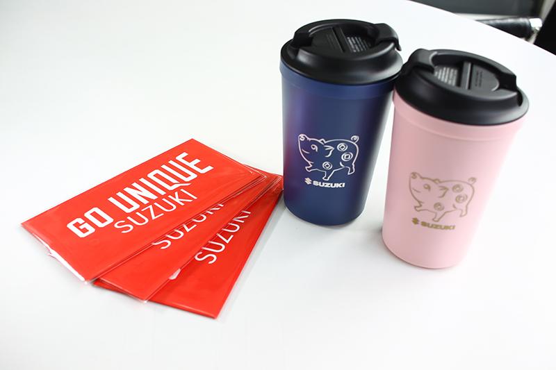 SUZUKI於2019年元月推出「豬光寶氣迎新春,百萬紅包加碼抽」春節購車活動,同時賞車送「GO UNIQUE」SUZUKI紅包袋,試乘再送「金豬年喜氣咖啡杯組」。