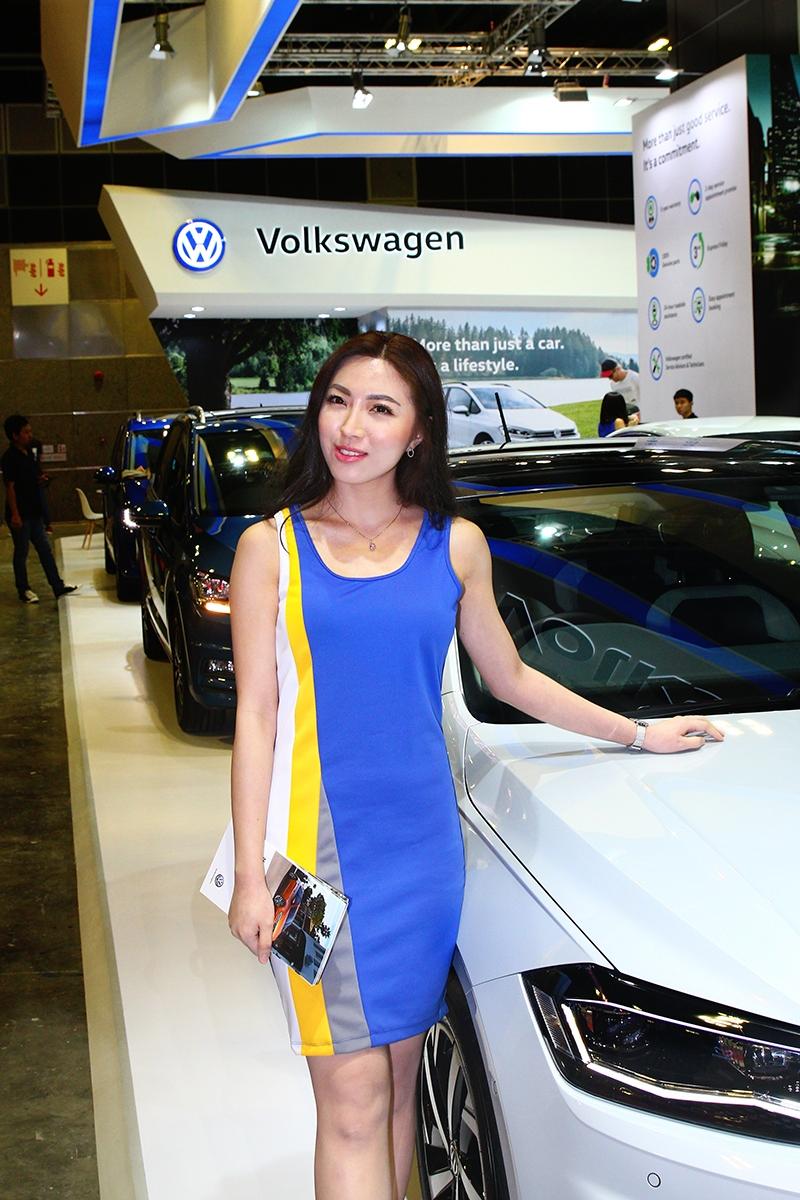 Volkswagen的Model以運動風為主。