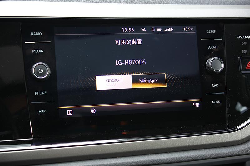 MIB II多媒體資訊娛樂系統,同時支援Apple Carplay與Android Auto系統。