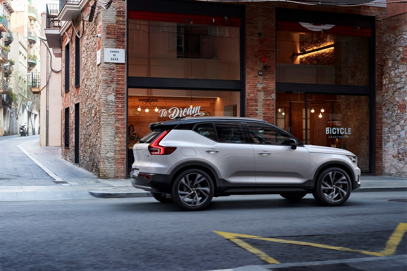 XC40再度蟬聯中型SUV獎項。