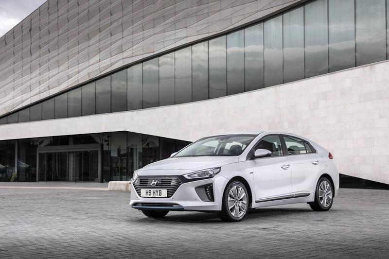 Hyundai除Ioniq獲獎外也獲得技術類獎項。